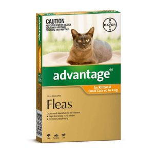 Advantage for Small Cats & Kittens Orange