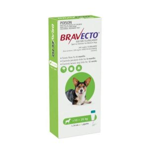 Bravecto Spot On Medium Dogs Green